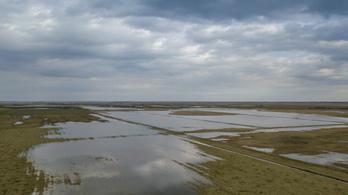 Majdnem minden második belvízvédelmi szakaszon készültség van