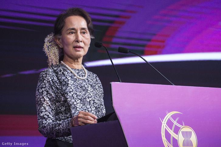 Aung Szan Szú Kjí, Mianmar megválasztott miniszterelnöke