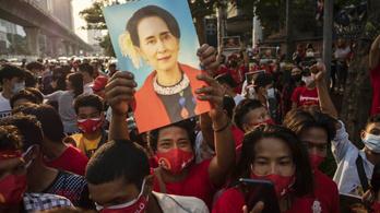 Az eltávolított elnök pártja támogatja a mianmari tiltakozásokat