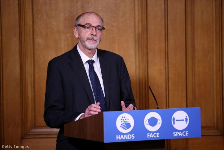 Andrew Pollard, az Oxfordi Egyetem oltóanyag-fejlesztő csoportjának igazgatója