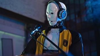 Csatlakozott a rockbandához a humanoid robot