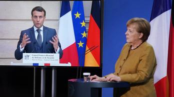 Macron és Merkel megvédik az európai közös vakcinabeszerzést