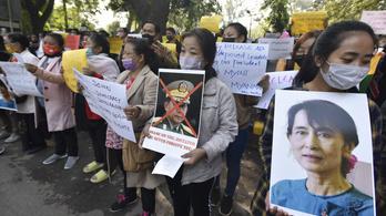A mianmari puccsista kormány a Twitter és az Instagram blokkolására adott utasítást