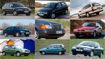 Az Év Autója-díj dobogósai mint használt autók XI. – 1994-1996.