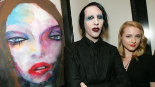 Marilyn Manson lezsidózta az exmenyasszonyát, horogkeresztet rajzolt az éjjeliszekrényére