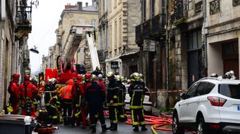 Többen megsérültek, ketten eltűntek egy franciaországi gázrobbanásban