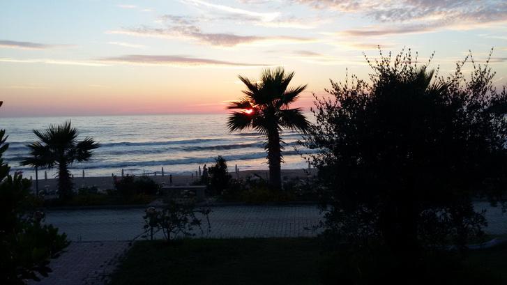 Albán tengerpart