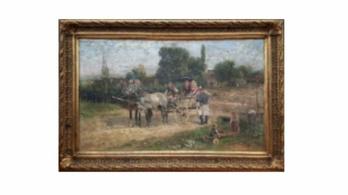 Közel másfél milliós festményt loptak