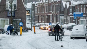 Hóvihar tombol Hollandiában