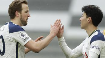 Három vereség után győzött újra a Tottenham