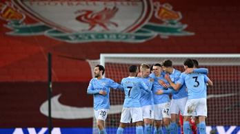 Alisson végzetes hibái után a City kiütötte a Liverpoolt