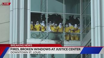 Börtönlázadás tört ki St. Louisban