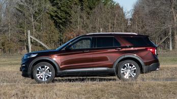 Ford Explorer PHEV Platinum – 2021.