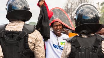 Haiti elnöke közölte: az életére akartak törni