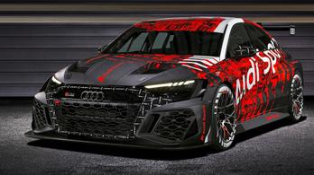 Megmutatták az Audi A3 új versenyváltozatát