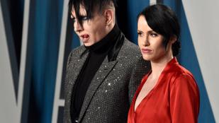 Evan Rachel Woodot fiatalkori képeivel zsarolta meg Marilyn Manson felesége