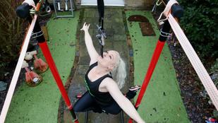 Így kötik le magukat a cirkuszi akrobaták a karantén alatt