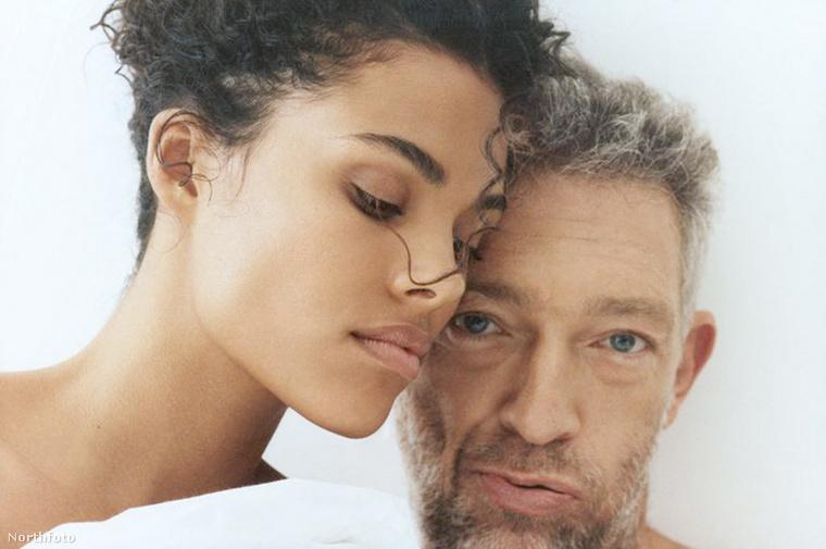 Vincent Cassel és Tina Kunakey közös felkérést kaptak a Kooples nevű ruhamárkától, amely párokkal szeret reklámozni