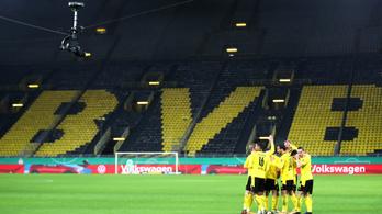 A Dortmund 26,3 millió eurós veszteséget könyvelt el a szezon első felében