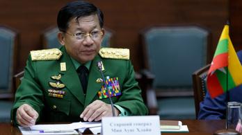 Szabad választásokat ígért a mianmari puccsista katonai vezető