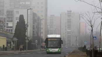 Miskolc: egészségkárosodást okozhat a rossz minőségű levegő