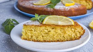 Grízes-joghurtos sütemény – ebben van a maradék gríz helye!