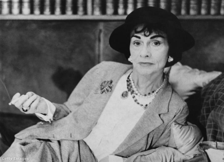 Coco Chanel 1962 körül