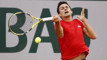 Két és fél óráig tartott Balázs Attila első Australian Openje