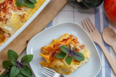 Szaftos lasagne sütőtökös besamellel sütve – Gyorsan készítsd el, amíg tart a szezon
