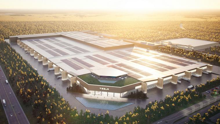 Rosszul áll a berlini Tesla gyár építése