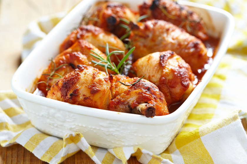 Mézes-mustáros csirkecomb: kívül ropogósra sül, belül fantasztikusan puha, omlós