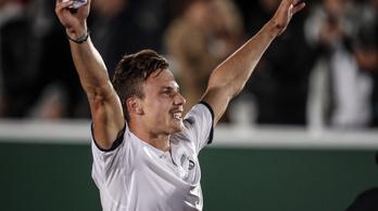 Fucsovics Márton csodálatos győzelme az olimpiai bajnok ellen