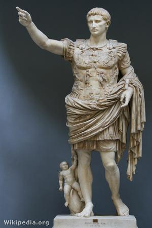 Caius Octavianus Caesar Augustus császár