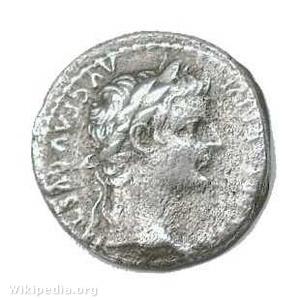 Tiberius denariusa