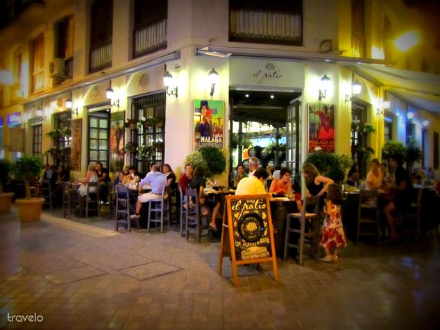 Tapas bár, Malaga