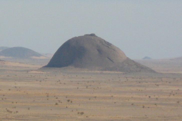 Breast-Shaped Hill