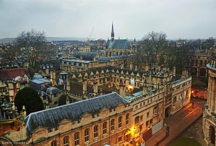 Exeter College, Oxford Egyetem
