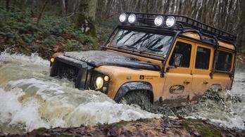 V8-as Land Rovert tessék, egy vagyonért