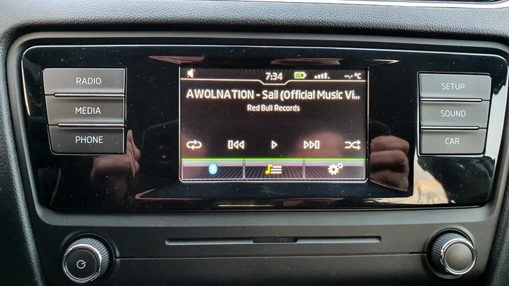 Átlagos igényeket teljesen kielégítő audio rendszer