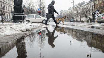 Ónos esőre, zivatarra, hófúvásra, széllökésre figyelmeztetnek a meteorológusok