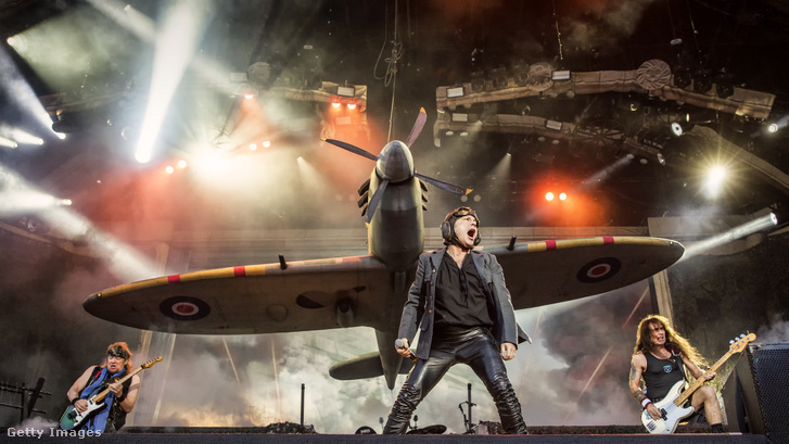 Az Iron Maiden a Swedish Rock Festivalon, Solvesborgban, 2018 június 7-én.
