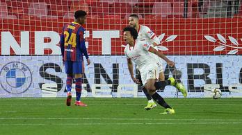 A Barcelona ismét a kiesés szélére került a kupában