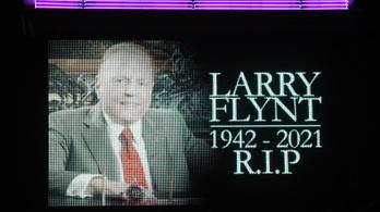 Meghalt az amerikai pornómágnás, Larry Flynt