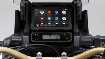 A Honda Africa Twinre is felkerült az Android Auto