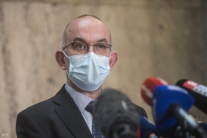 Jan Blatný, cseh egészségügyi miniszter