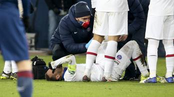 Neymar megsérült, nem játszhat a Barcelona ellen