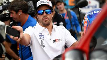 Biciklizés közben elgázolták Fernando Alonsót