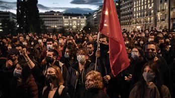 Görögországban rendőrök lepik el az egyetemeket