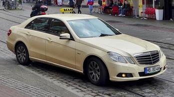 Taxiként használt német E200-ast szabad?