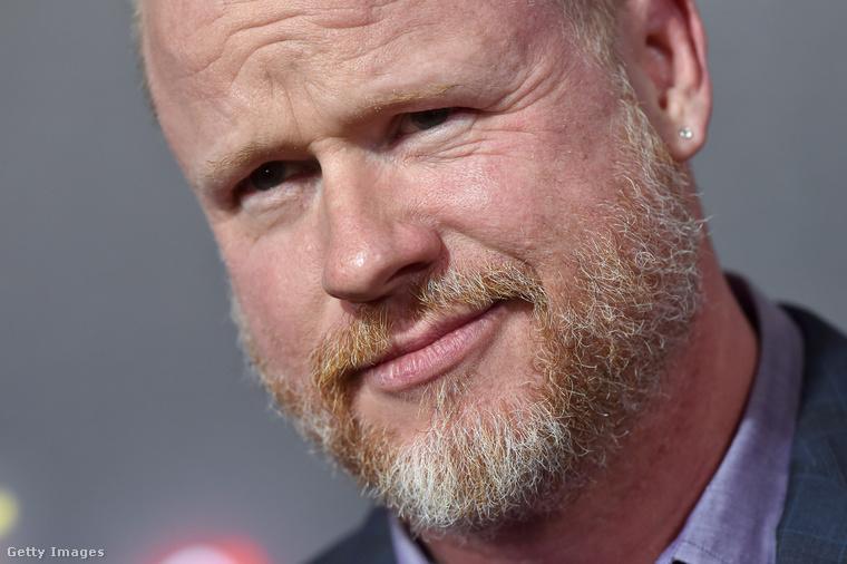 Ezen a képen Joss Whedon amerika rendező-producer-forgatókönyvíró-zeneszerzőt láthatja
